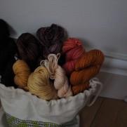 Sunshine Yarns Dipped Infinity Cowl Kit